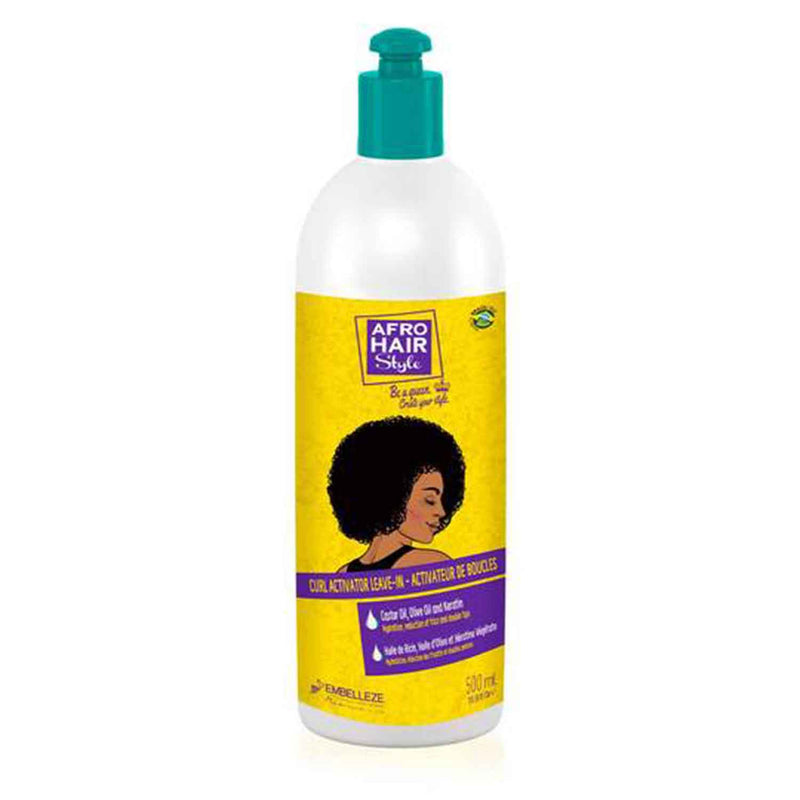 Afrohair Curl Activator (500ml) - Novex Hair Care