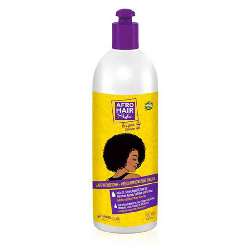 Afrohair Leave In Conditioner (500ml) - Novex Hair Care