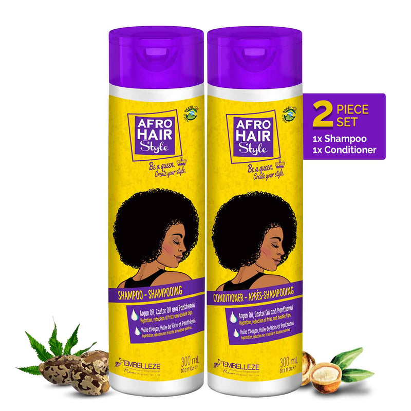 Afrohair Shampoo & Conditioner Set - Novex Hair Care