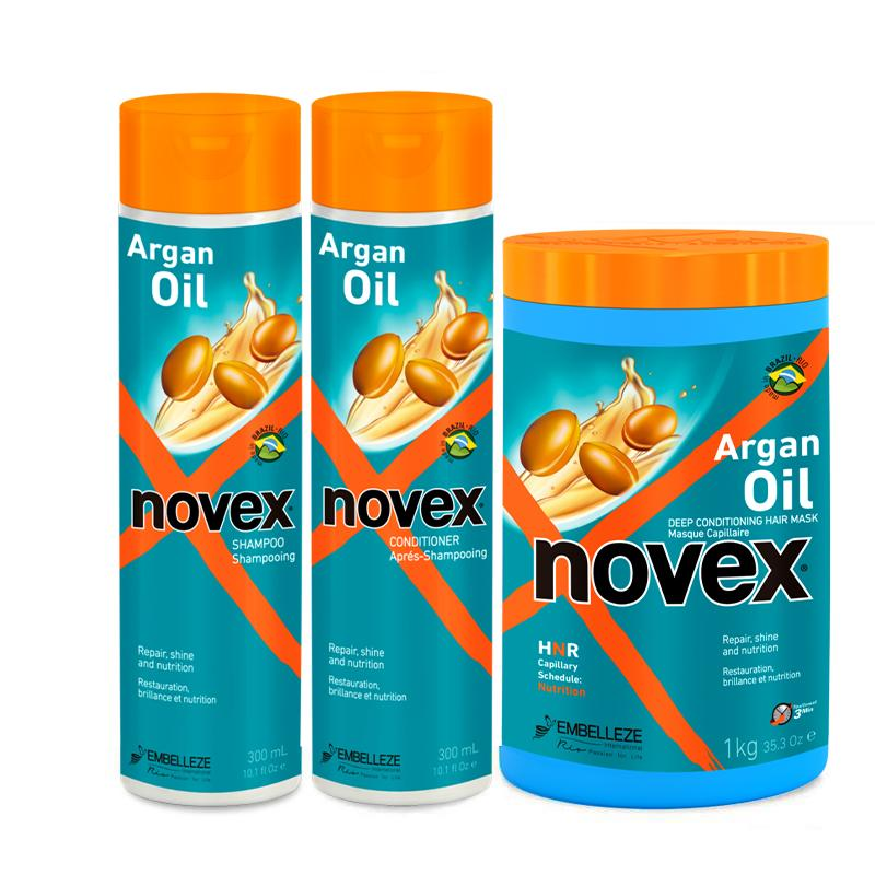 Argan Oil Bundle - Novex Hair Care