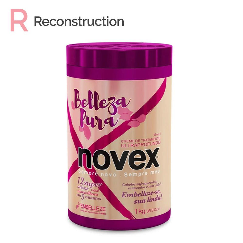 Belleza Pura Hair Mask (1kg) - Novex Hair Care
