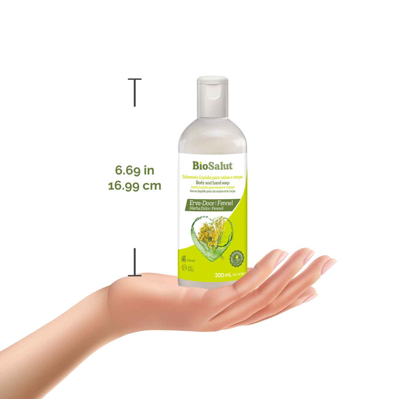 BioSalut Fennel Body and Hand Soap - Novex Hair Care