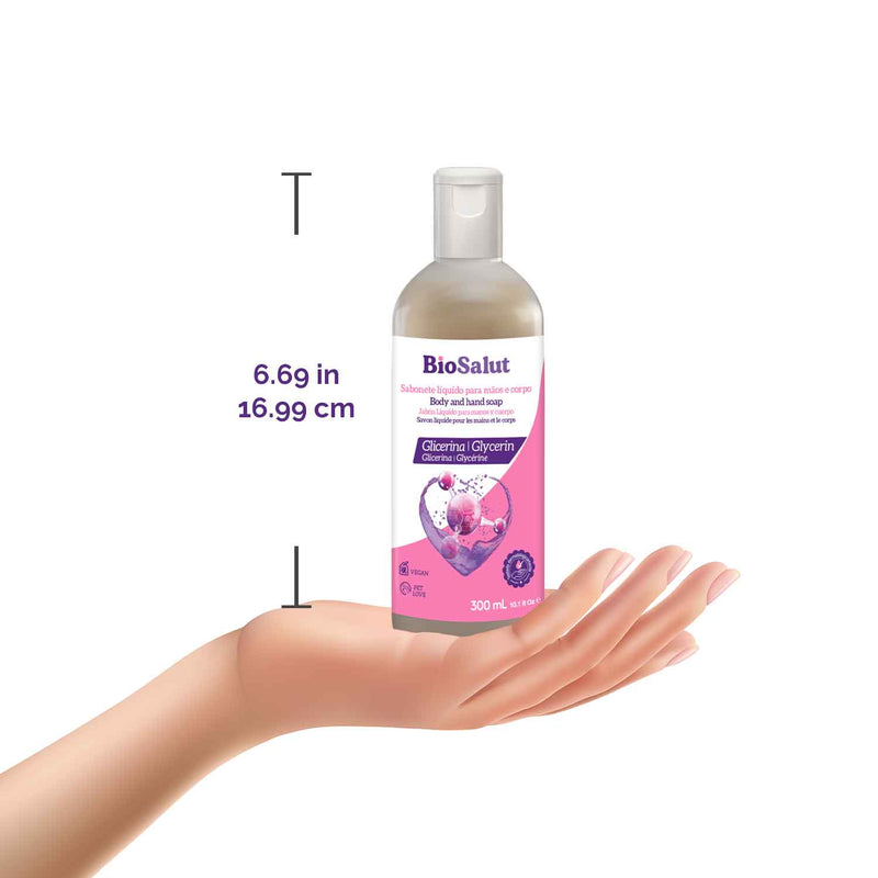 BioSalut Glycerin Body and Hand Soap - Novex Hair Care