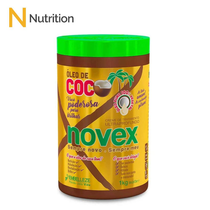 Brazilian Coconut Hair Mask (1kg) - Novex Hair Care