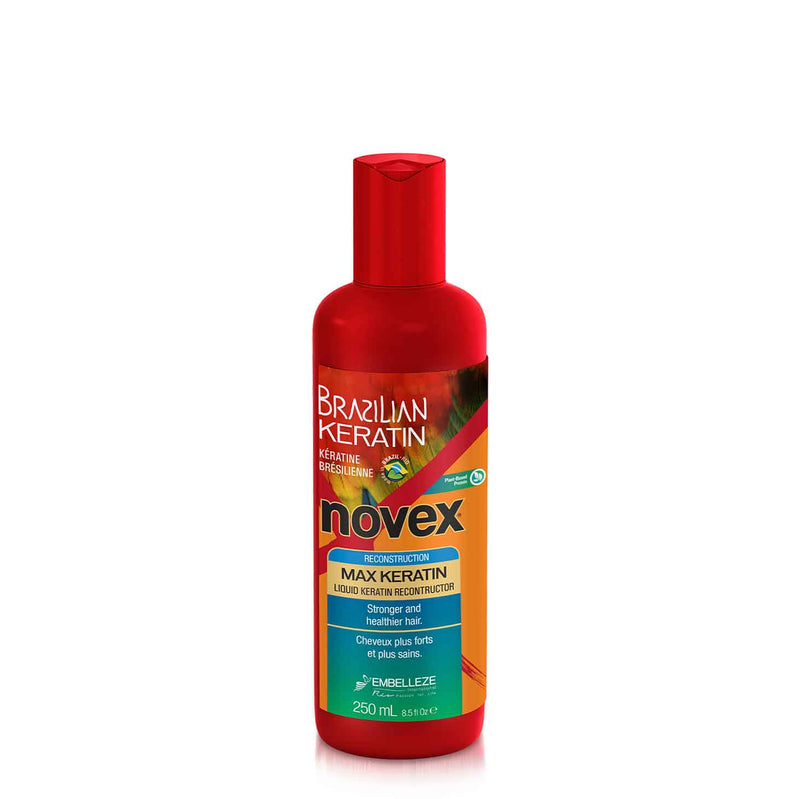 Brazilian Keratin Max Concentrated Liquid Keratin (250ml) - Novex Hair Care
