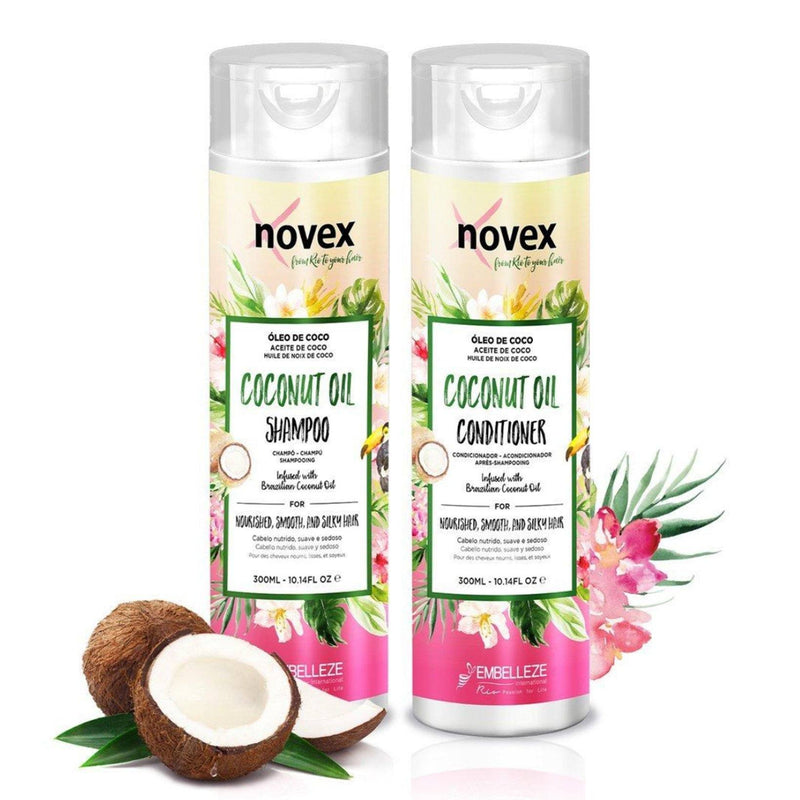 Coconut Oil Shampoo & Conditioner Set (300ml)