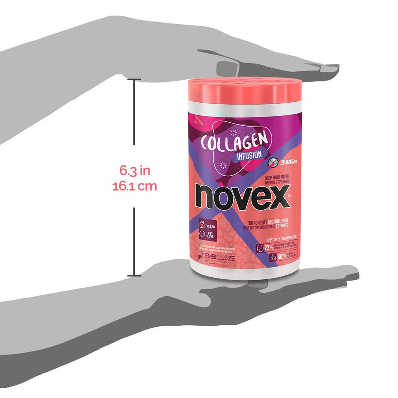 Collagen Infusion Hair Mask (1Kg) - Novex Hair Care
