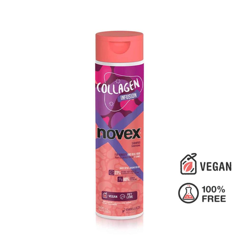 Collagen Infusion Shampoo (300ml) - Novex Hair Care