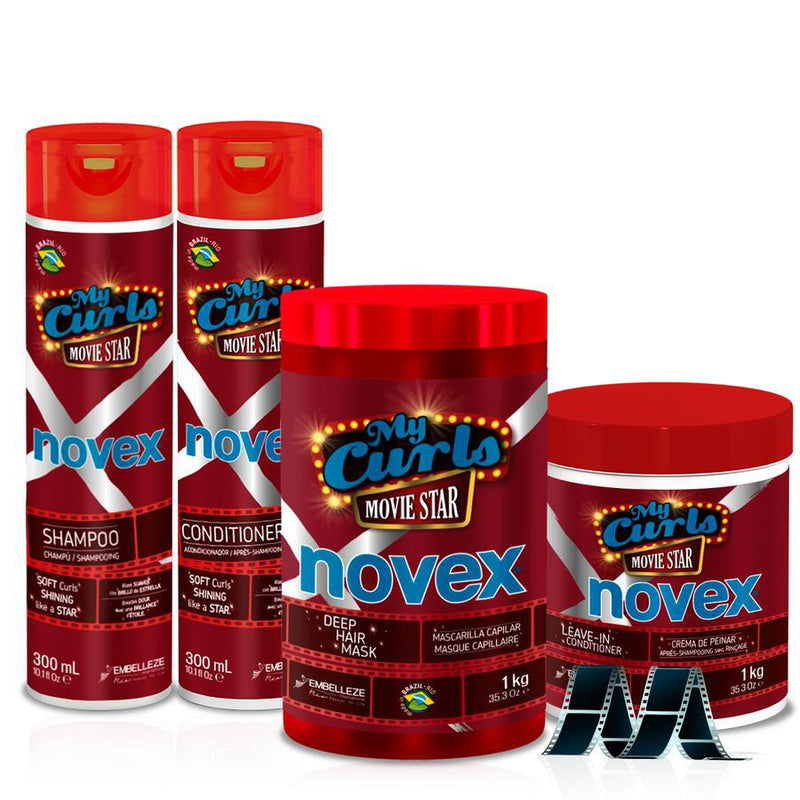 My Curls Movie Star Bundle - Novex Hair Care