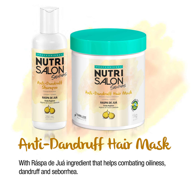 Nutrisalon Solutions Anti Dandruff Shampoo 250ml