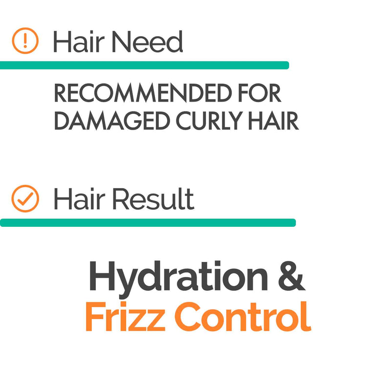 Tamed Curls Shampoo (300ml) - CURLY - Novex Hair Care