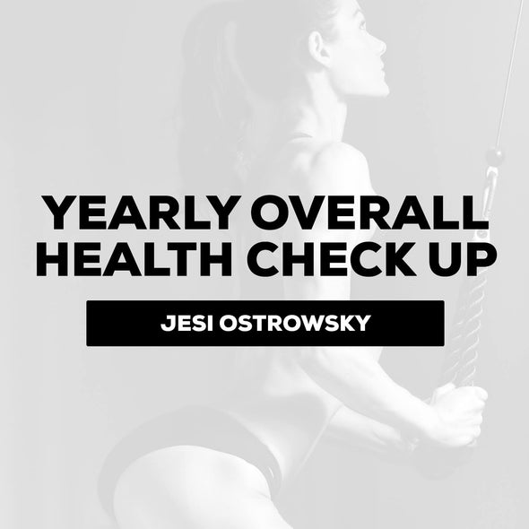 Jesi Ostrowsky - Yearly Overall Health Check Up (one time consult) | $150