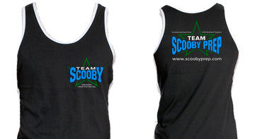 Team Scooby Men's Black Tank