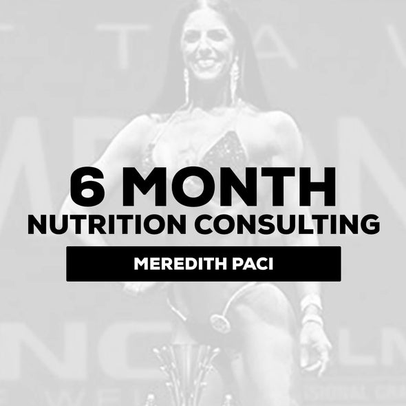 Meredith Paci - Nutrition Consulting | 6 Month - $1057.50