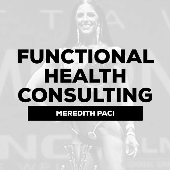 Meredith Paci - Functional Health Consulting | $300 Down / $250 Monthly