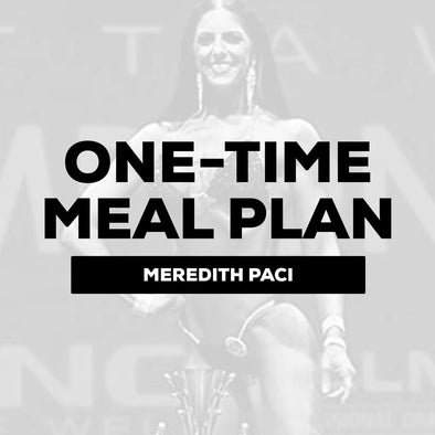 Meredith Paci - One-Time Meal Plan