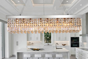 How to Find the Right Rectangular Crystal Chandelier for Your Home