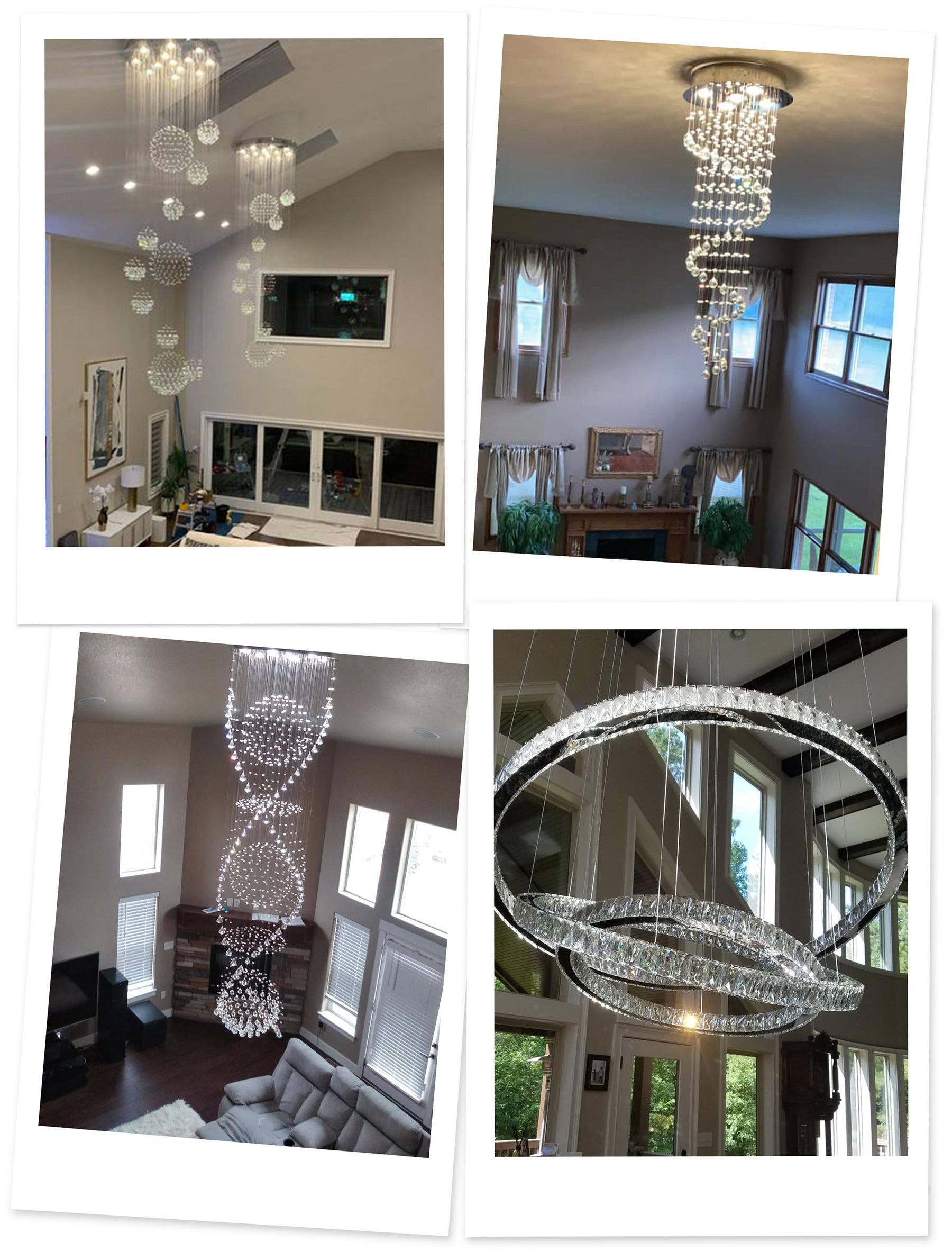 Luxurious Chandeliers for Living Rooms | Sofary