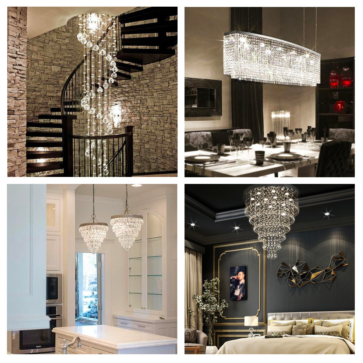 Crystal, Globe, or Waterfall? How to Pick the Right Chandelier Style for Your Home - Sofary Lighting