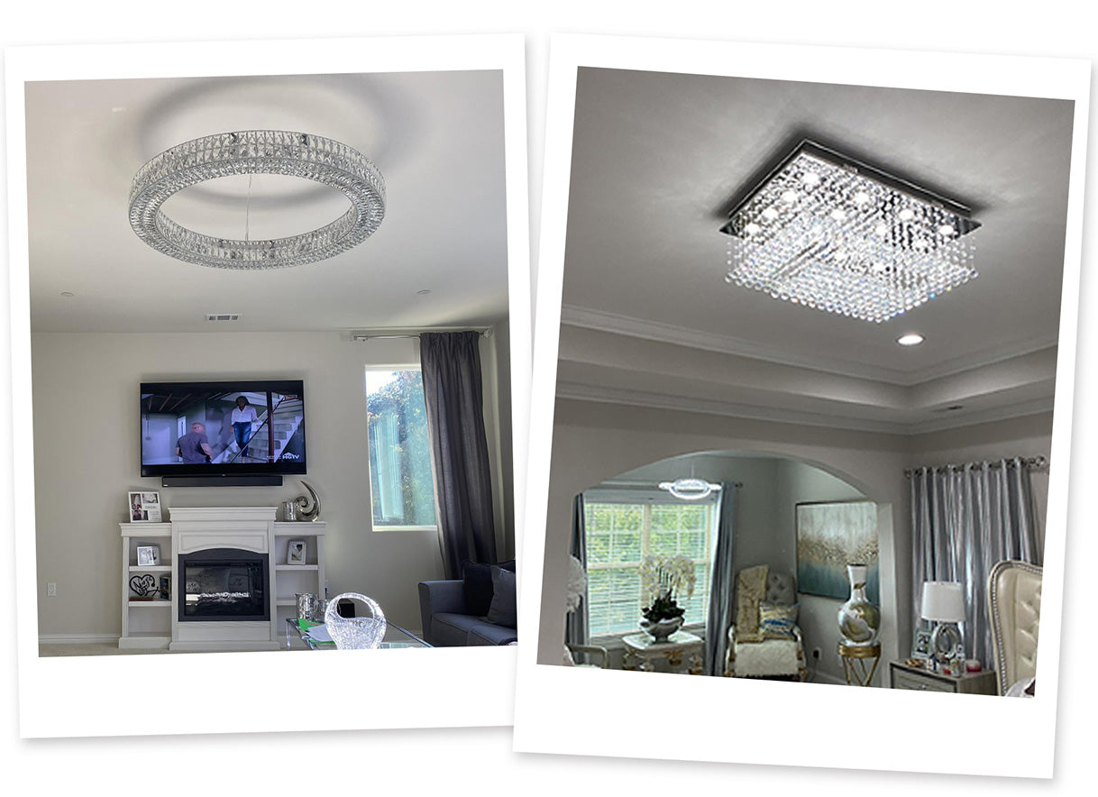 Crystal Chandeliers for Bedrooms | Sofary