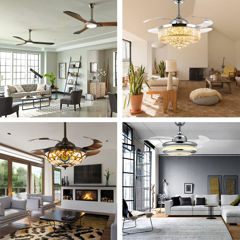 How To Pick The Perfect Chandelier Ceiling Fan For Your