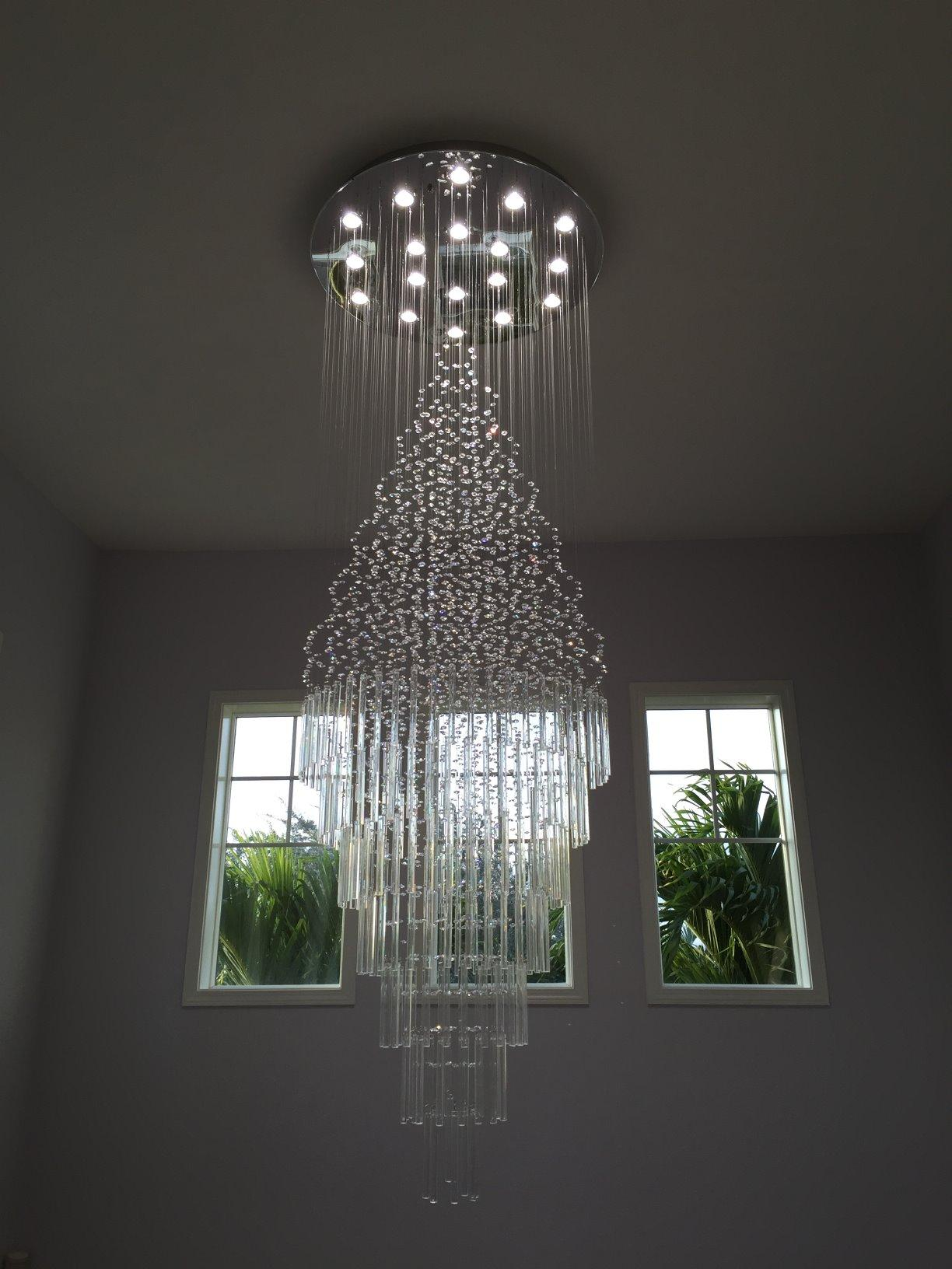 Customer showcases sofary lighting love the chandelier arubaitofo Gallery