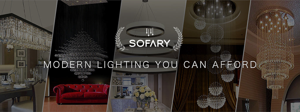 Sofary Lighting - Siljoy Lighting - Modern Lighting You Can Afford