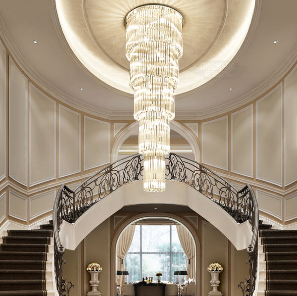 Luxury Staircase Chandelier - Sofary Lighting