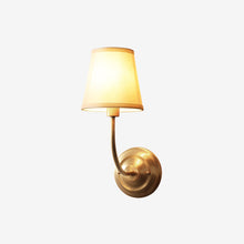 Wall Lamp Brass Finish With Shades