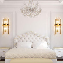 Crystal Wall Sconce Wall Lamp Lighting Fixture - Bedroom