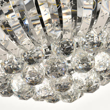 Crystal Ceiling Fan With Sphere Shape Design - Details