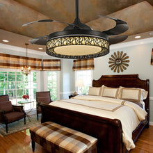 Ceiling Fan With Modern Lighting - Bedroom