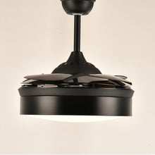 Modern Ceiling Fan With Lighting With Blades Closed