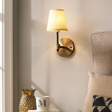 kali Wall Lamp Brass Finish At Living Room