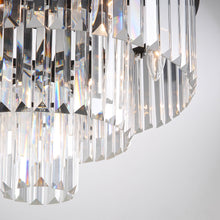 3-tier Crystal Chandelier Lighting - detail four