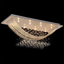 Boat Shape Luxury Crystal Chandelier - Modern Ceiling Light - details