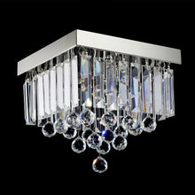 Modern Crystal Raindrop Ceiling Lighting