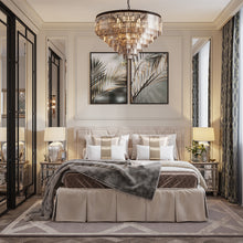 Five & Seven Tiers Crystal Chandelier - Pendant Light - Bedroom