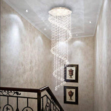 Spiral Raindrop Chandelier - Raindrop Crystal Chandelier