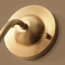 Noi Wall Lamp Brass Finish Details