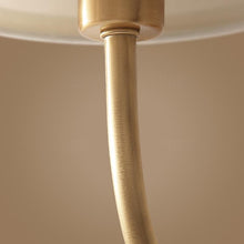 Wall Lamp Brass Finish With Shades Details