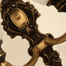 Lico Wall Lamp Bronze Finish Details