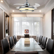 Modern Design Chandelier Ceiling Fan - Dining Room