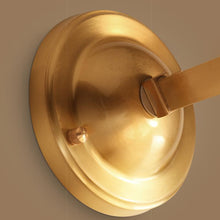 Brass Finish With Shades Wall Lamp Details