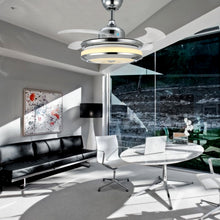 Modern Design Chandelier Ceiling Fan - Office