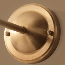 Wall Lamp Brass Finish With Glass Shades Details