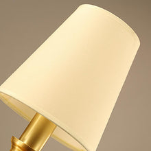 Brass Wall Lamp With Shades Details