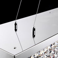 Rectangular Crystal Chandelier - Details