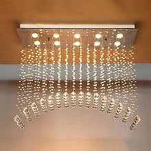Magpie Bridge Arched Crystal Chandelier - Ceiling Light Warm Light