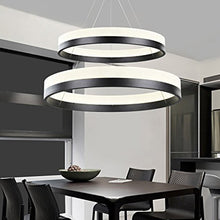 Dinning Room Two Rings Pendant Light